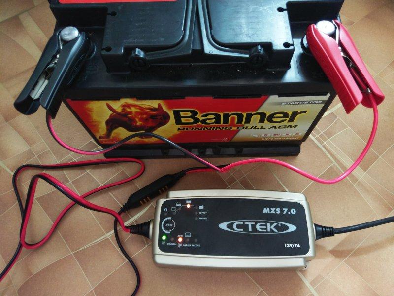Зарядное устройство для AGM аккумулятора