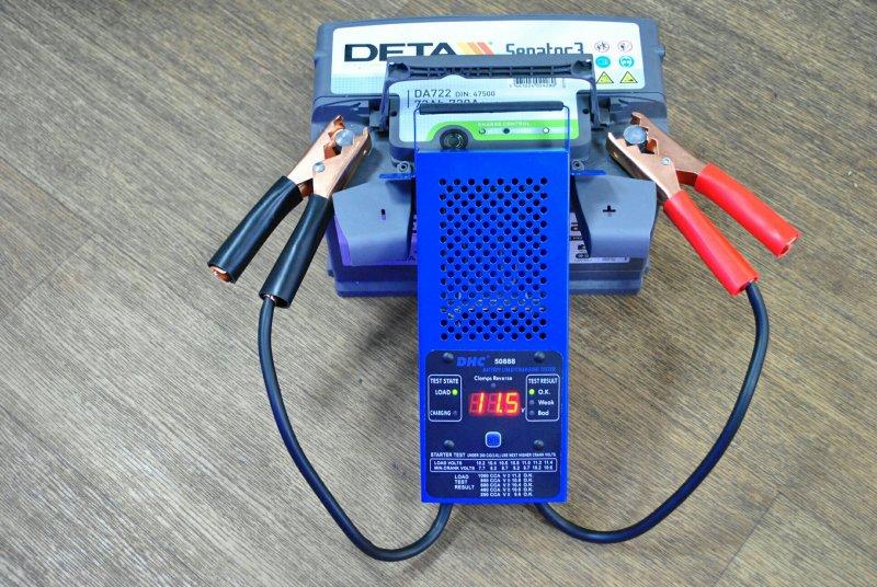 Нагрузочная вилка для аккумулятора