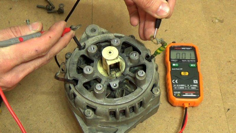 Измерение параметров генератора