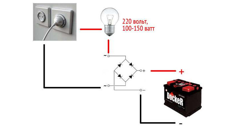 Способ зарядки аккумулятора