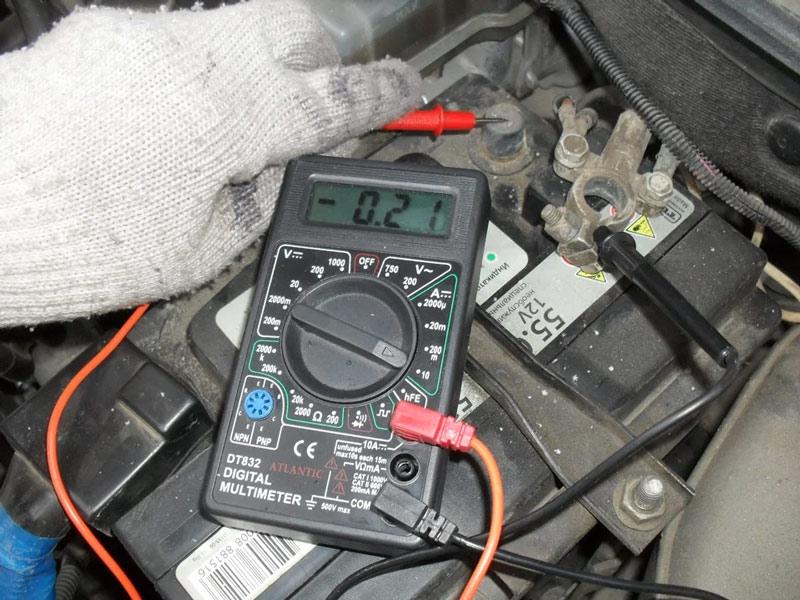 Замеры силы тока мультиметром
