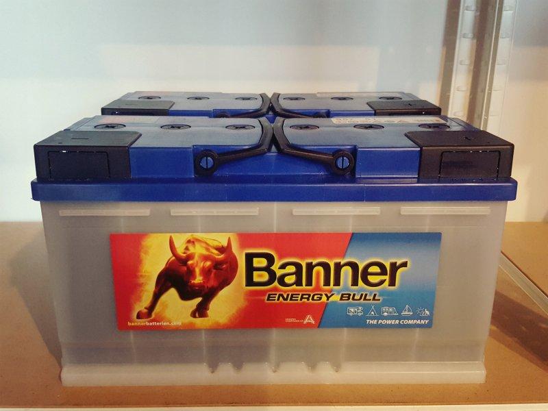 АКБ Banner Energy Bull
