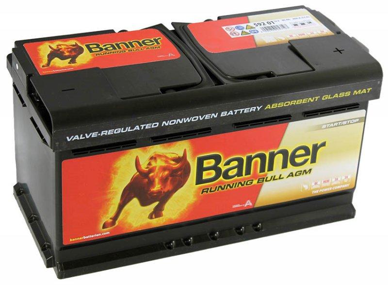 АКБ Banner Running Bull