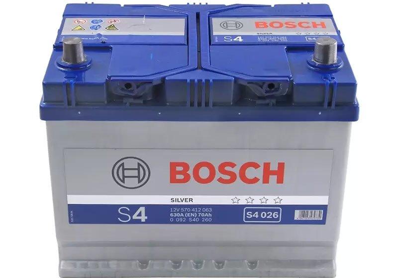 АКБ Bosch S4 Silver