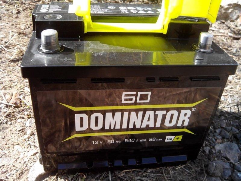 Автомобильный аккумулятор Dominator