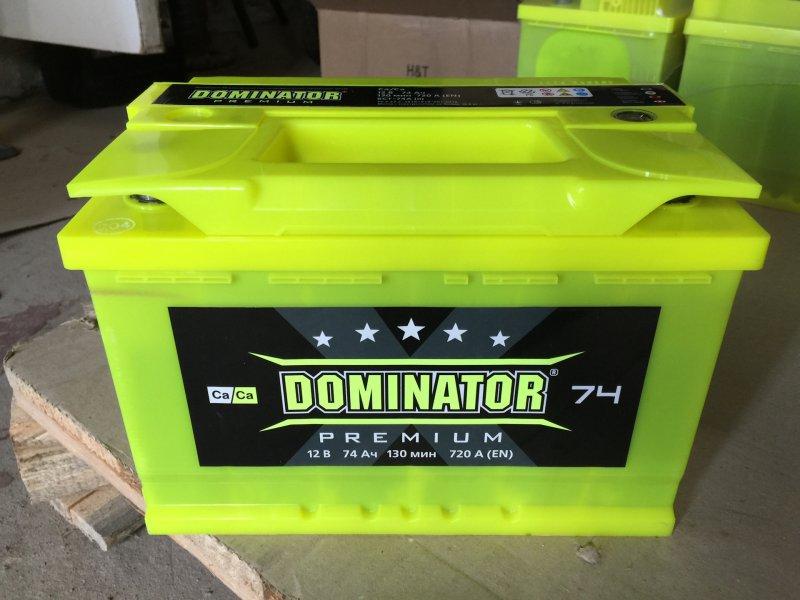 АКБ Dominator Premium