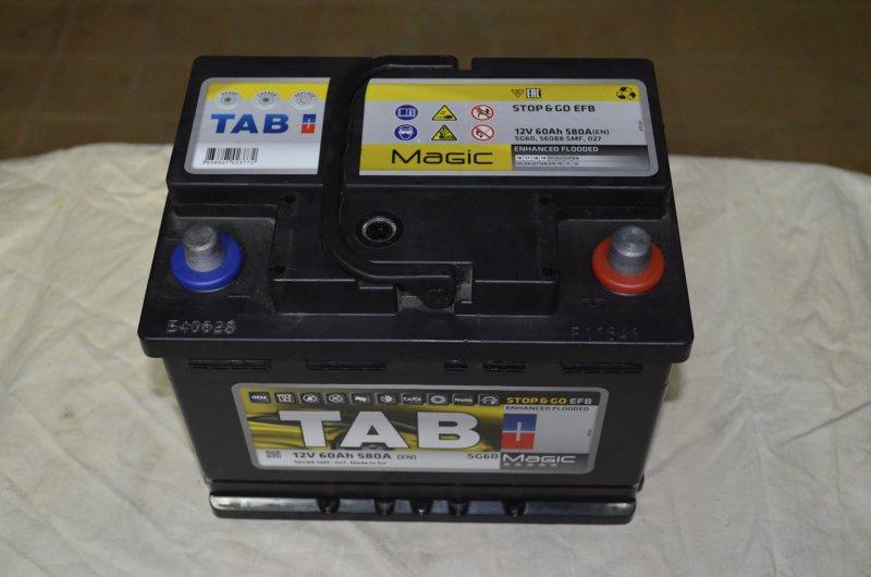 АКБ TAB EFB Stop-Go
