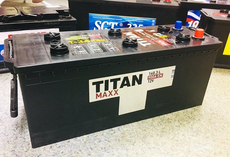 АКБ Titan Maxx