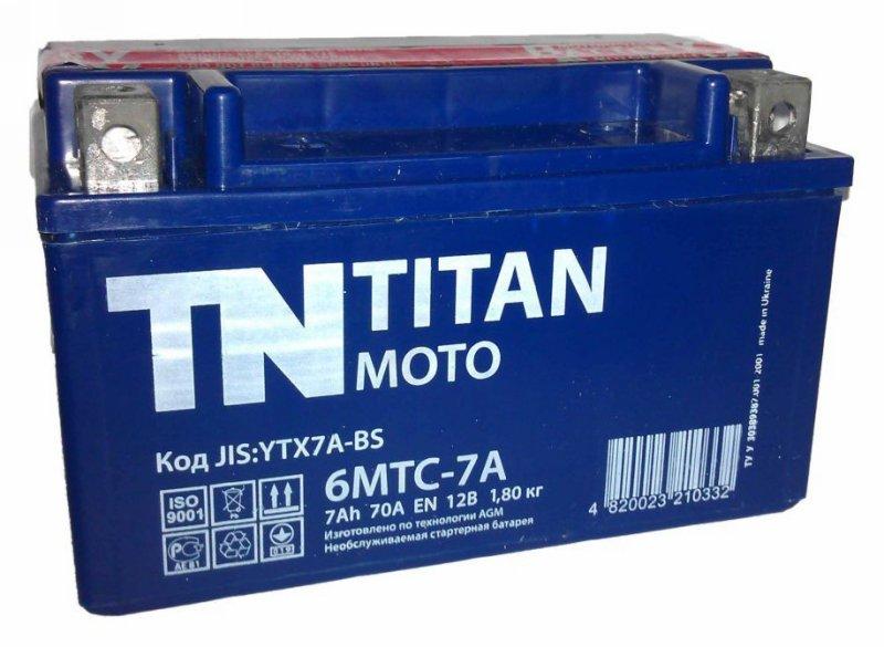 АКБ Titan Moto