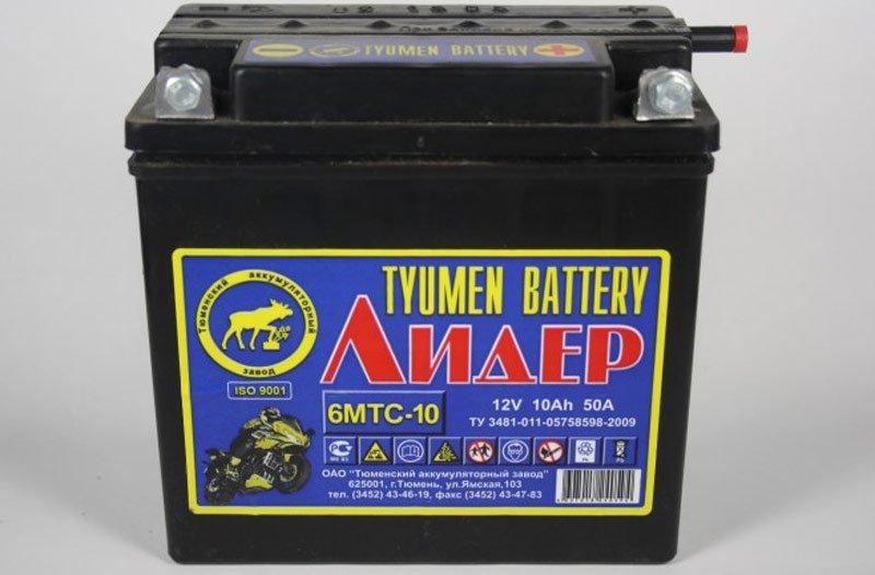 Аккумуляторная батарея Тюмень