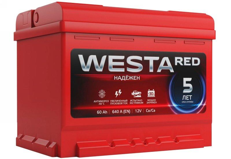 АКБ Westa Red