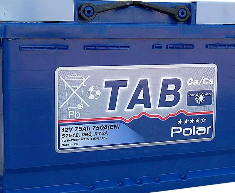 Аккумулятор для машины TAB