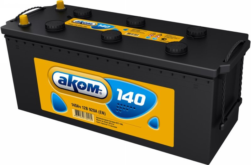 Аккумуляторная батарея Аком