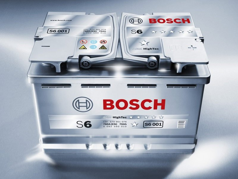 АКБ Bosch S6 AGM HighTec