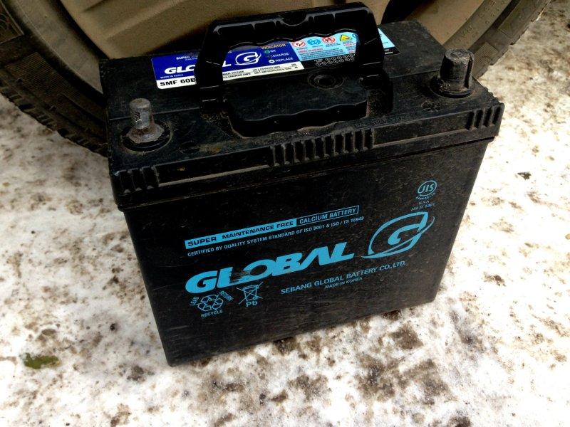 Аккумулятор автомобиля Global