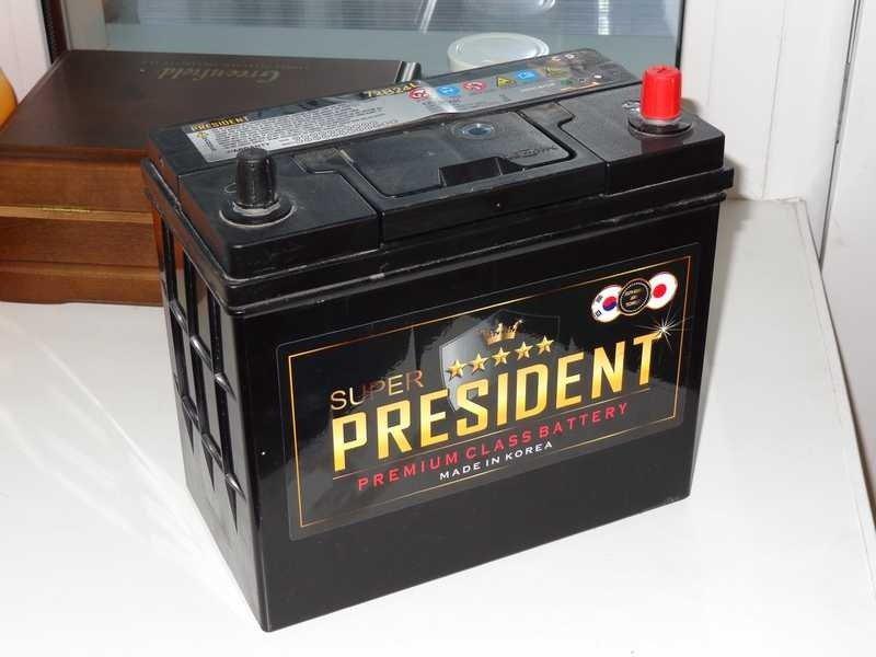 Аккумулятор автомобиля President