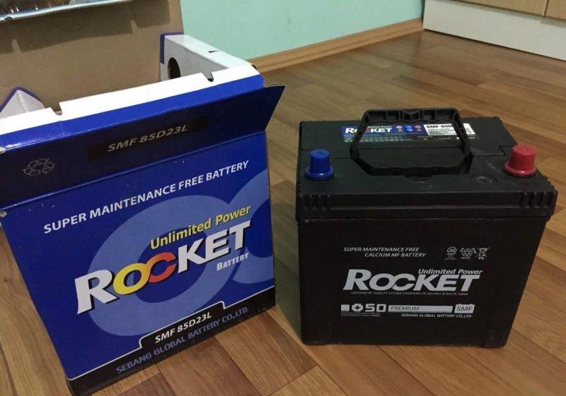 Аккумулятор автомобиля Rocket