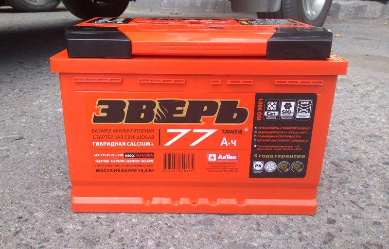 Аккумуляторная батарея Зверь