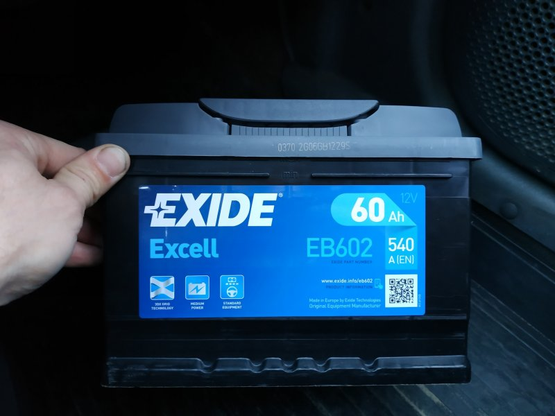 АКБ Exide Excell new