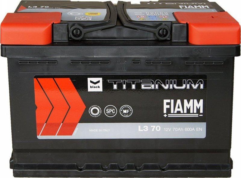 АКБ Fiamm Black Titanium