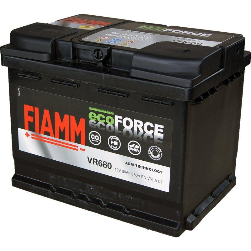 АКБ Fiamm Ecoforce AGM