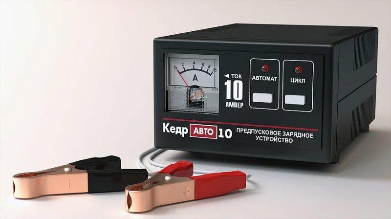 ЗУ для аккумулятора Кедр Авто 10