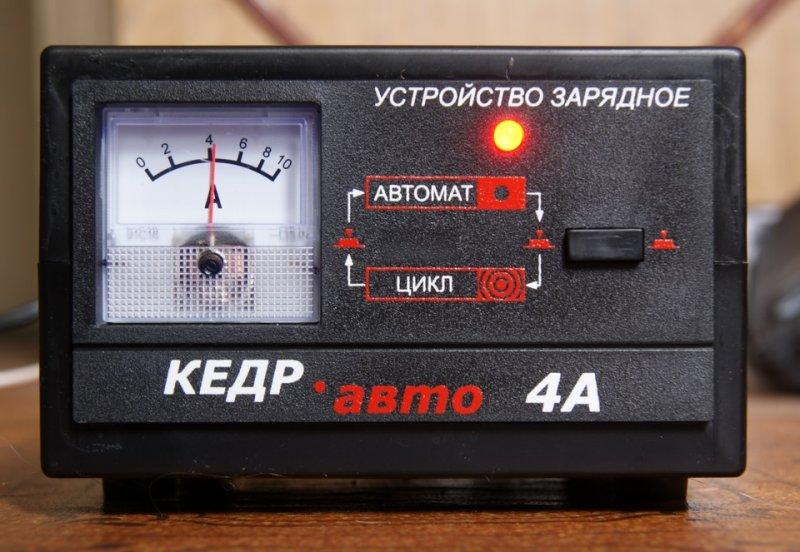Устройство зарядное Кедр Авто 4А