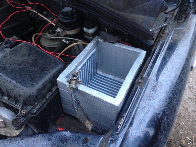 Термокейс для автомобильного аккумулятора