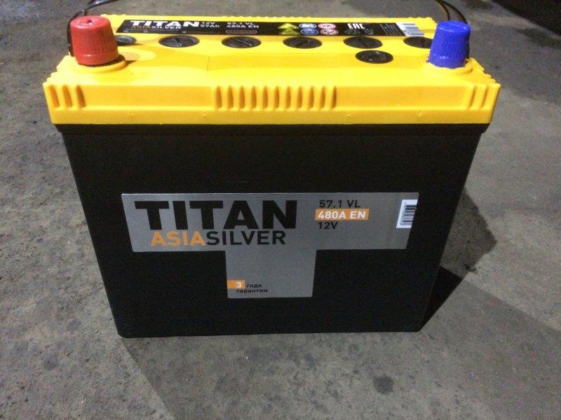 АКБ Titan Asia Silver