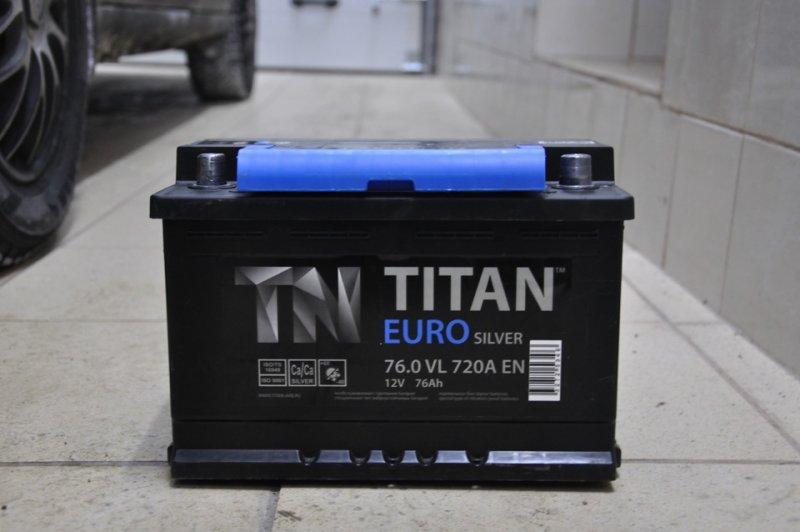 АКБ Titan Euro Silver