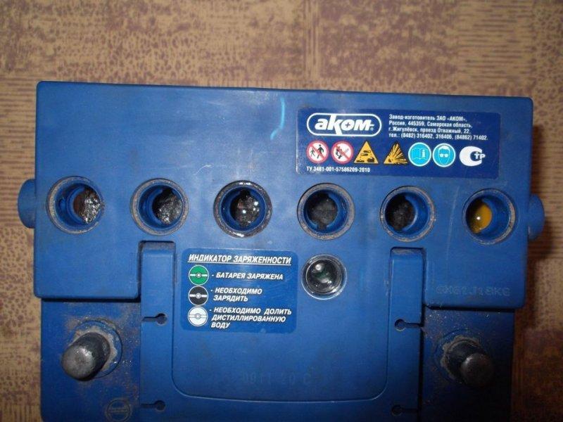 Банки аккумуляторной батареи