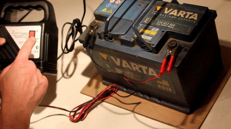 Зарядное устройство для АКБ машины