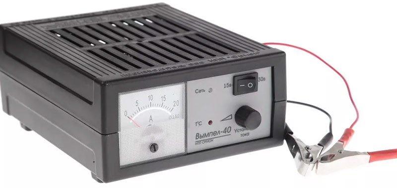 Зарядное устройство для аккумулятора авто