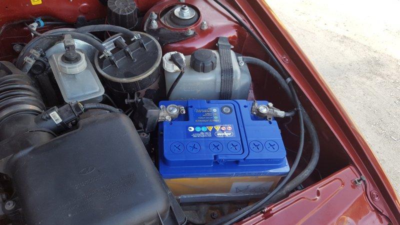 Новый аккумулятор ВАЗ-2114
