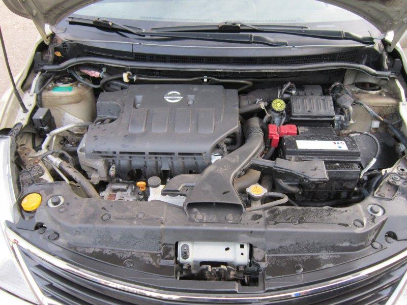 Аккумулятор в машине Nissan Tiida