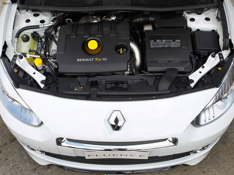Машина Renault Fluence