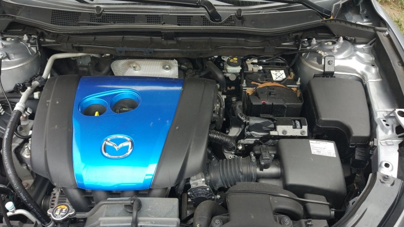 Под капотом Mazda CX-5