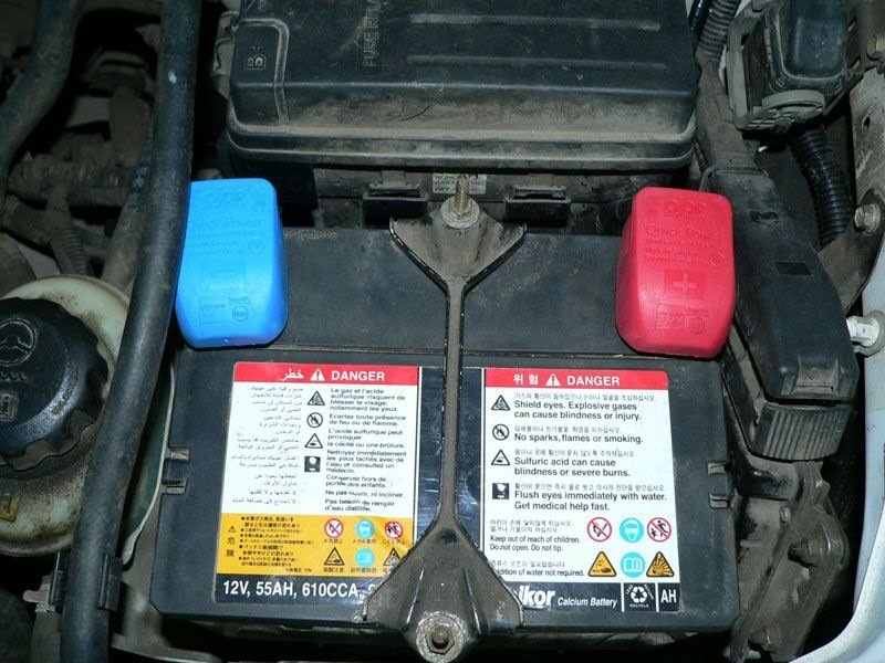 Аккумуляторная батарея Chevrolet Lacetti