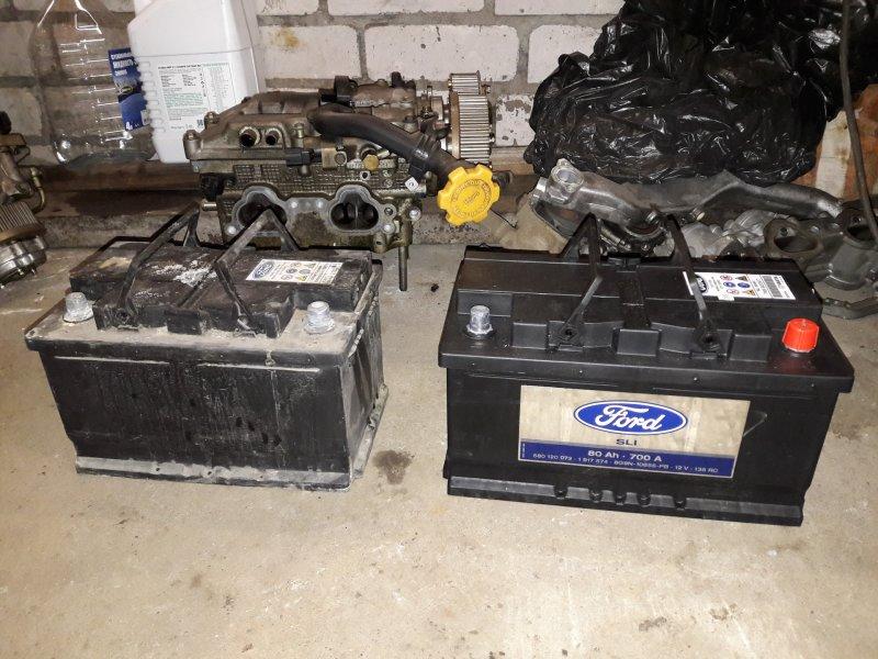 Аккумуляторная батарея Ford Kuga