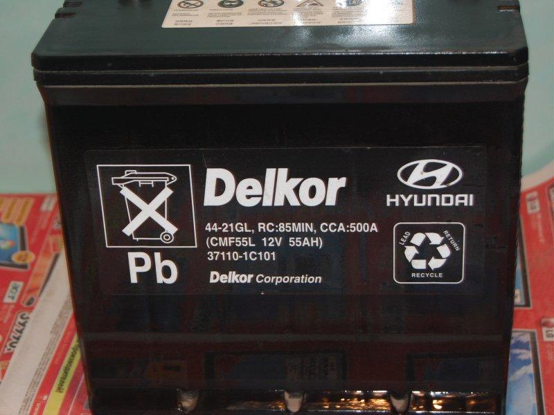 Аккумуляторная батарея на Hyundai Accent