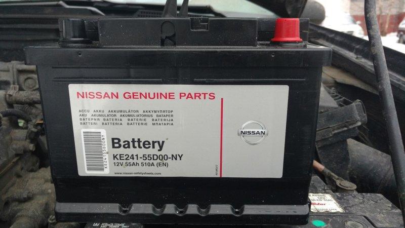 Аккумуляторная батарея Nissan Almera