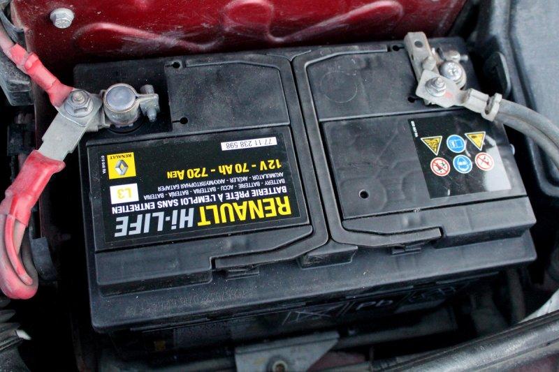 Аккумулятор Renault Sandero