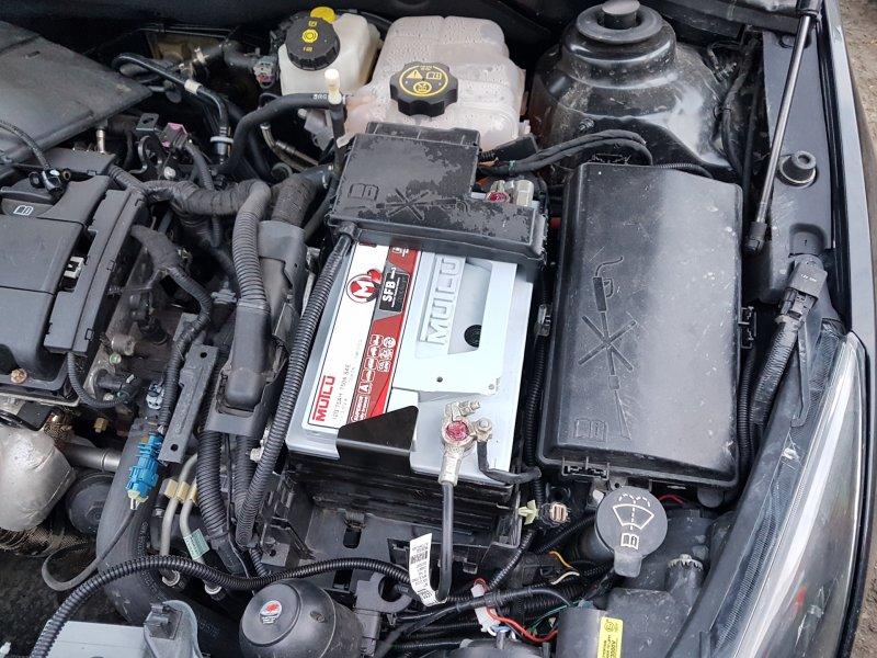 Установка АКБ Chevrolet Cruze